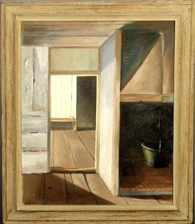 Oil On Canvas Painting, 20th C., By Ernest L. Bidd
