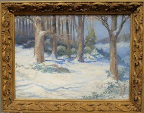 Baldrey, Haynsworth [American, 1885-1946] Oil On C