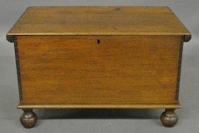 Pennsylvania Walnut Bible Box, C.1780.