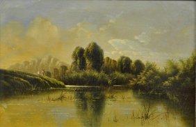 Boddington, Henry John [england, 1811-1865] Oil
