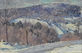Atwood, Robert [american, 1892-1970] Oil On Canvas
