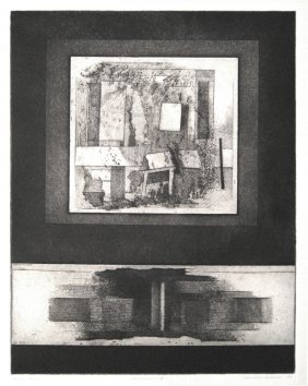 Clinton Adams (born 1918) The Window Ii, 1959