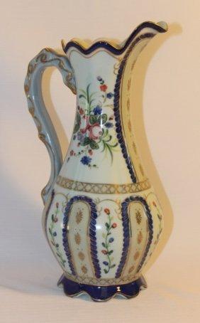 Decorative Porcelain Pitcher By Dominie's