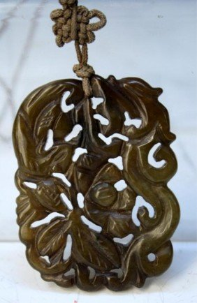 Chinese Jade Openwork Carving