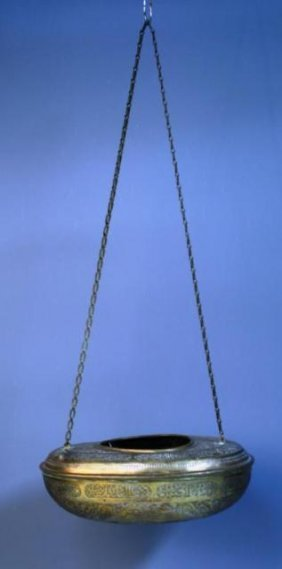 Brass Islamic Hanging Incense Burner