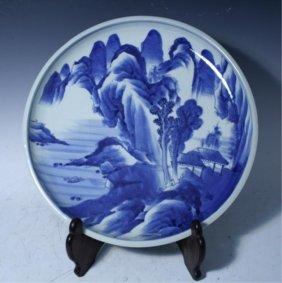 Japanese Ko Imari Arita Platter Early 19th Century