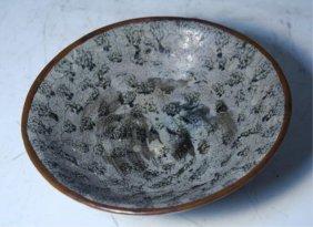 Chinese Blackspot Bowl Tang Dynasty