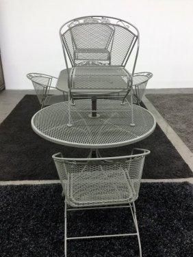 9 Piece Misc Patio Furniture Lot