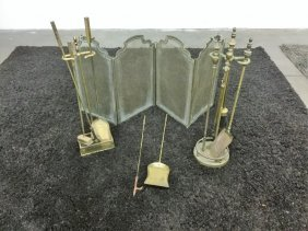 Misc Lot Fireplace Tools