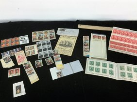 Lot Of Misc Stamps/war Bonds