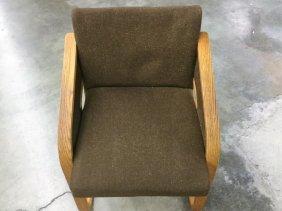 Oak Bentwood Arm Chair