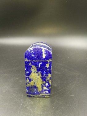 Chinese Natural Royal Blue Lapis Lazuli