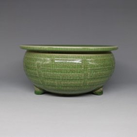 Chinese Longquan Celadon Censer