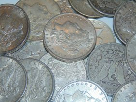 Lot Of 100 Morgan Silver Dollars No Premium
