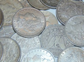 Lot Of 30 Morgan Silver Dollars