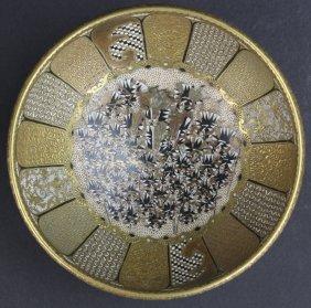 Fine Quality Japanese Satsuma Samurai Pottery Bowl
