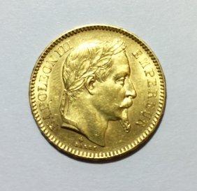 20 Francs 1866