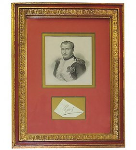 Autograpf 'napoleon Bonaparte'