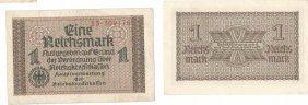 Germany 1942, 1reichsmark Treasury Billgermany 1942
