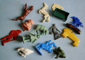 Assorted 1940's – 50's Soft And Hard Plastic