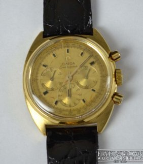 Omega Seamaster - A 1970's Gentleman's 18ct Yellow Gold