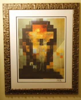 "Salvador Dali ""lincoln In Dali Vision"" Limited Ed Litho"