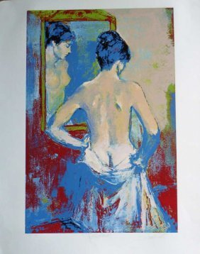 Jan De Ruth, Reflections, Signed Lithograph