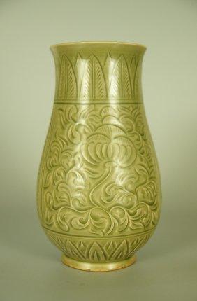Chinese Yaozhou Porcelain Vase