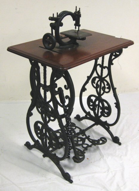 wilcox and gibbs treadle sewing machine