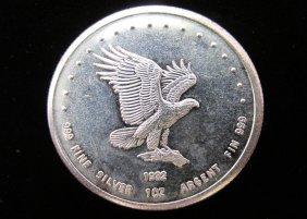 Monex One Ounce Eagle Silver Art Round
