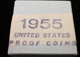 Rare - Unopened 1955 Us Proof Set
