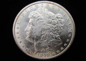 1898-o Morgan Silver Dollar, Uncirculated