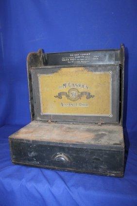 Antique Mccaskey Register Sales Bookkeepers System File