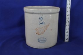 Red Wing 2 Gallon Stoneware Crock Union Stoneware Co.