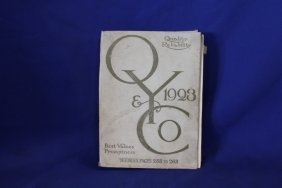 O & Y Co C. 1923 Products Cataloge, Jewelry, Housewares