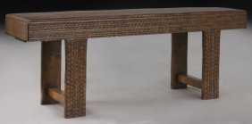 Custom-made Chip Carved Sofa Table,