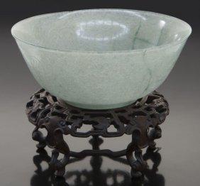19th-20th Chinese Jadeite Bowl.