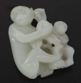 Qing Dynasty Chinese Jade Carving