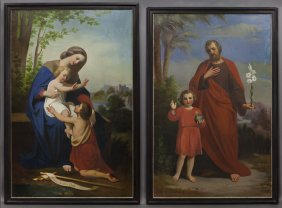 Pr. Heinrich Kaiser Paintings Depicting Christ,
