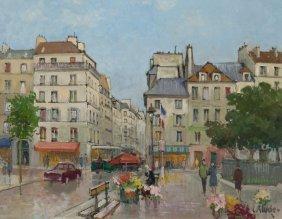 "Constantin Kluge ""untitled (parisian Street"