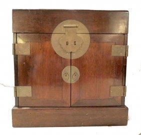 19th Century Oriental Style Jewelry Box