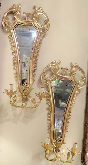 Pair 19/20th Century Sconces