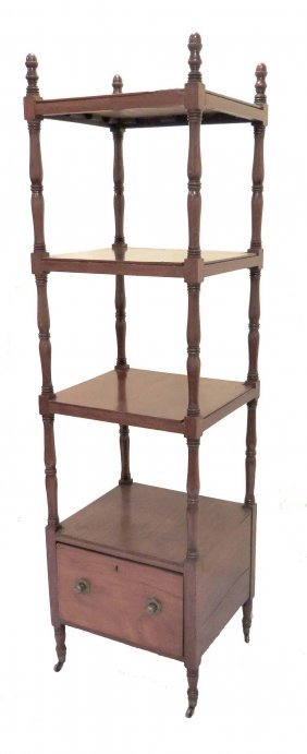 19th Century English Sheraton Etagere