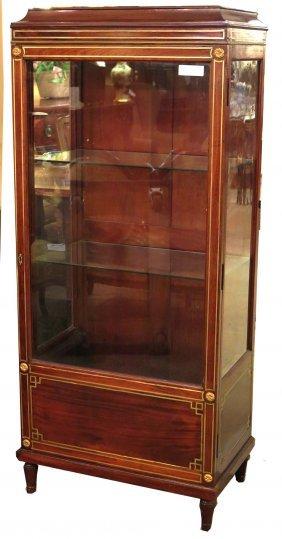 French Bronze Curio Cabinet