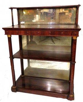 Antique Regency Rosewood Server