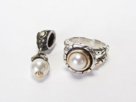 Atencio Ring And Hardy Enhancer, Pearl