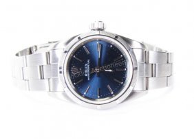 Lady's Stainless Rolex Oyster Perpetual Watch