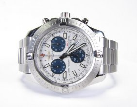 Breitling Colt Stainless Chronograph Watch