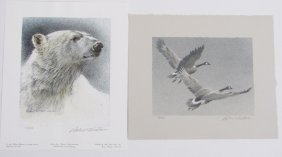 Two Robert Bateman Limited Edition Prints