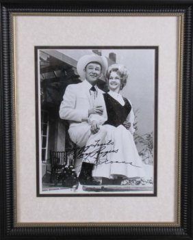 Roy Rogers And Dale Evans Signed Photo